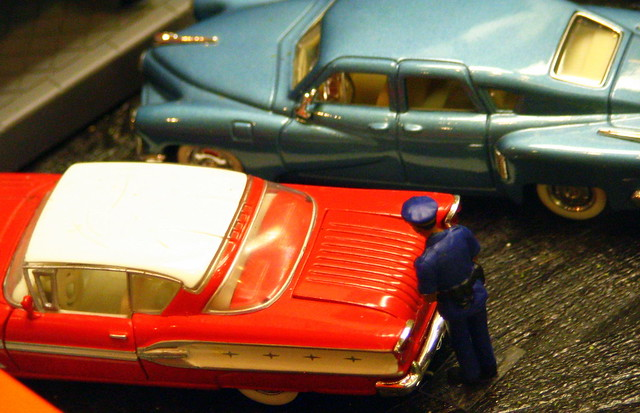 Model Train Display #4: Getting a parking ticket