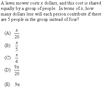 SAT Math: When to Plug-in Numbers II (w/ examples) | SAT Tutor's Blog