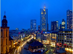 Mainhatten (Batram) Tags: city longexposure skyline frankfurt mainhatten batram abigfave