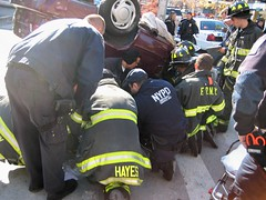 Car Accident - OOPS!  3 (buff_wannabe) Tags: accident nypd oops fdny caraccident flashinglights nypdesu