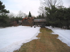 Cleared Driveway to cabin