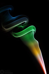 (Andreas Reinhold) Tags: black color colors smoke flash colored incense onblack strobist andreasreinhold
