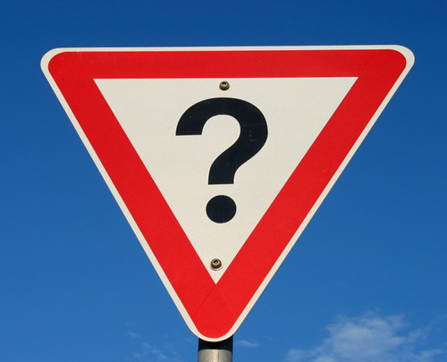 Question mark sign by Colin_K, on Flickr