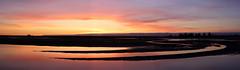 Orange sky Panorama