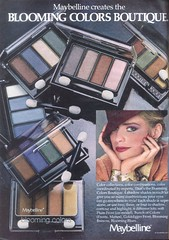 Vintage 80's Eye Shadow (twitchery) Tags: vintage ads makeup 80s 70s vintageads vintagebeauty