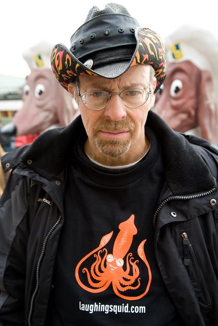 Louis & Original Laughing Squid T-Shirt