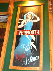 Sign for Vermouth, Madrid