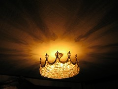 Spirits to the Light (Caneles) Tags: light spain pattern patterns chandelier 2007 lacoruna lightpattern instantfave