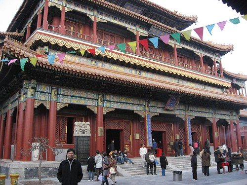 Beijing - Lama Temple - Tallest Wooden Buddha installed here