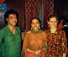Dancers - IN-9697-2-003 (Eric.Parker) Tags: india dance 1996 dancer 1997 bengal calcutta westbengal kathak kolkta vishnupur ballybridge debimukherjee joannadas chitreshdas bengalstateacademy