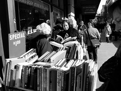 Strand bookstore (ktylerconk) Tags: street new york nyc usa strand march manhattan browsers books bookstore bargains 2008