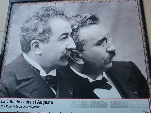 Louis et Auguste Lumière - Lyon