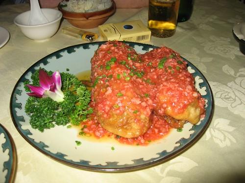 Hunan-style Chinese food