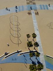 Old Muscle Beach (scottdunn) Tags: kite beach photography santamonica aerial palmtree kap aerialphotography musclebeach kiteaerialphotography scottdunn ff16 fotografiaareacompipa photosexplore photoparcerfvolant fesseldrachenluftbildfotografie crw1801jpg
