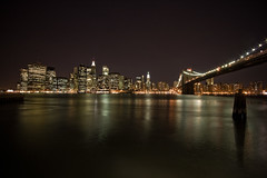 Brooklyn Bridge (Andoni Tebar) Tags: newyorkcity newyork night clear nuevayork andonitebar