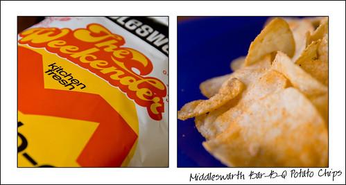 Middleswarth Bar-B-Q Potato Chips