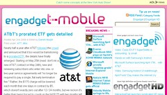 Engadget Mobile to t-phone
