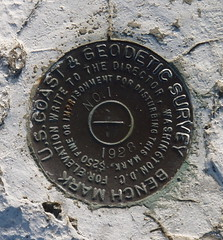 Oak Bluffs Survey Marker