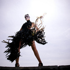 [フリー画像] 人物, 女性, ファッション, ドレス, 201004021500