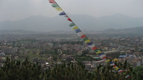 Kathmandu Valley as seen from Stupa