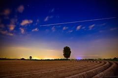 (Andreas Reinhold) Tags: longexposure tree night plane pattern trails trail asparagus bergischesland spargel andreasreinhold