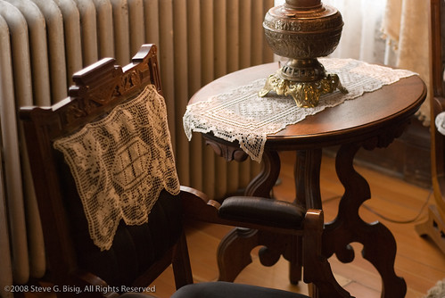 Antique Furniture in the Meeker Mansion, Puyallup, Washington by Steve G. Bisig.