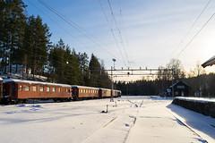 Tinnoset (Jostein Nilsen Photography) Tags: musem tinnoset telemark trains railroad snow winterwonderland winter february nsb trees