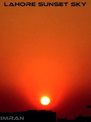 Sunset Sky Lahore Pakistan - IMRAN™ (ImranAnwar) Tags: 2017 architecture february imran imrananwar iphone lahore nature pakistan silhouette sunset travel