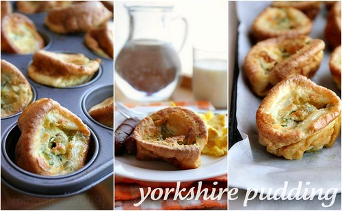Yorkshire Pudding collage