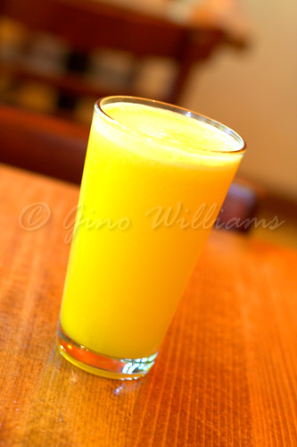Orange-Ginger Juice