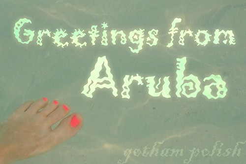 Greetings from Aruba