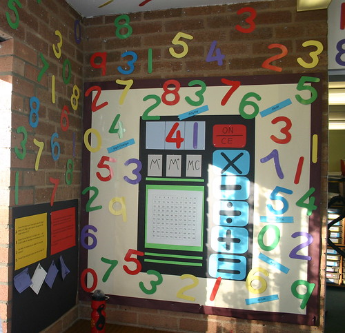 It can be hard to get creative with numeracy classroom displays.