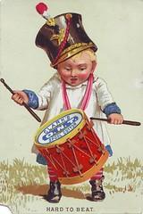 Clark's Thread Trade Card (bleintz) Tags: vintage ephemera clipart tradecard