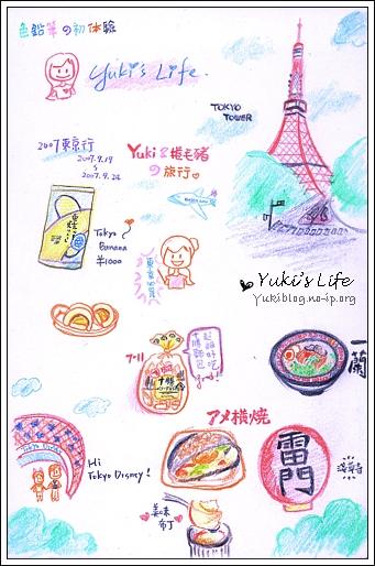 [手繪]色鉛筆初驗:2007東京