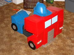 Optimus as truck