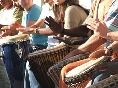 Drumming in Madrid (Sam Kelly) Tags: madrid travel espaa drums spain europa europe fiesta livemusic drumming