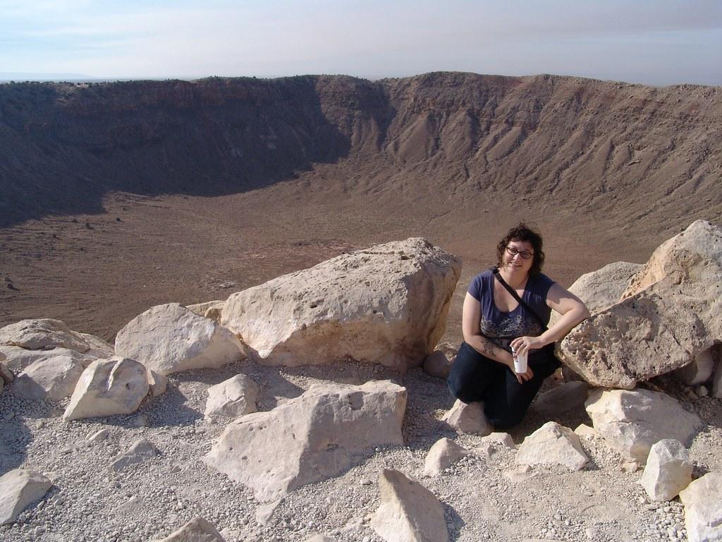 Me & Meteor Crater