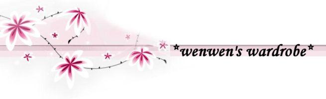 *wenwen's wardrobe*