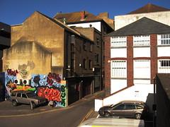 Jew Street (Elmar Eye) Tags: graffiti brighton north laine