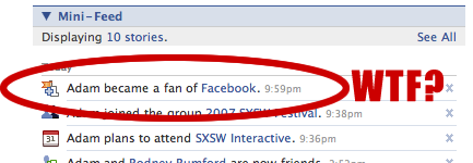 I guess I'm a Facebook fan