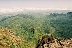 La vue du sommet du Pico da Antonia, le de Santiago (Alpamaya) Tags: santiago verde cabo vert cap pico da summit antonia cape sommet