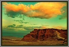 masada (A   M) Tags: sea dead israel desert roman authority parks unesco national isreal  masada catapult judea       legiox             romancatapultmachine masadasiegetower