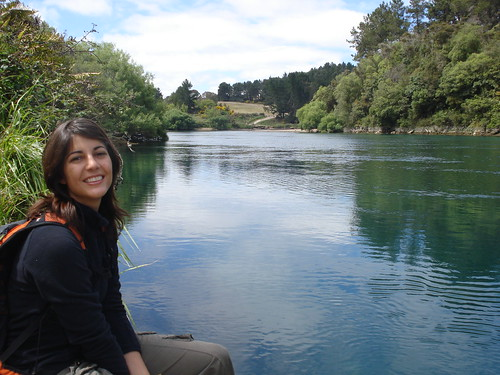 rio de camino a Taupo