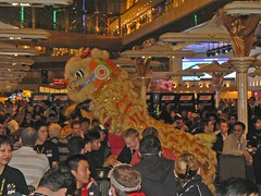 APPT Macau 2007 opening day Lion Dance