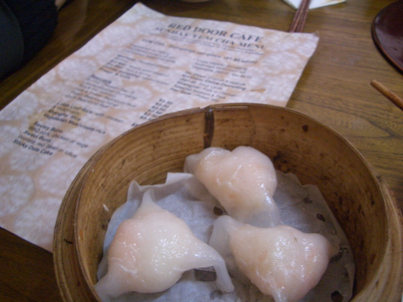 Prawn and crab dumplings