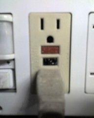 GFCI outlets have no Christmas spirit.  :-(