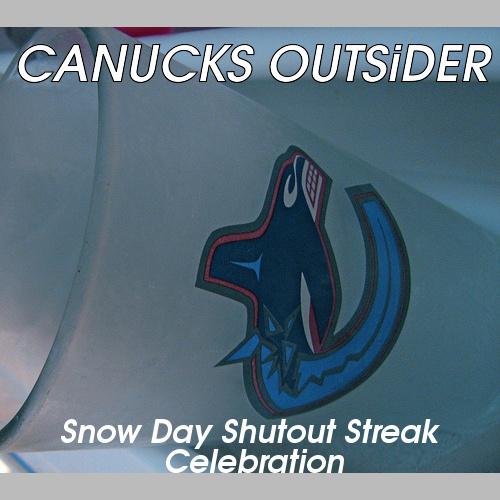 Snowday Shutout Streak Celebration