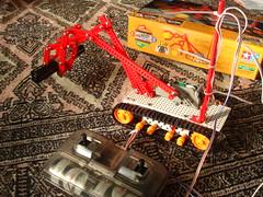 tamiya remo-con robot kit