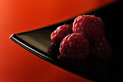 Raspberry fields forever..... (Francesco Bartaloni) Tags: food 20d canon raspberry raspberries