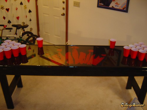 bud select beer pong table